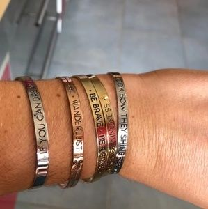 🆕️3for$15 Minimalist Affirmations Bracelet Set